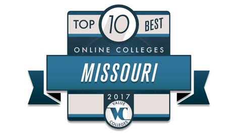 missouri state  top  colleges  missouri   study