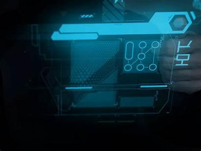 Dribbble Ui Hud Cyber Interface Futuristic Future