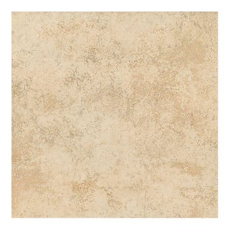 Home Depot Floor Tiles Porcelain by Trafficmaster Portland Beige 18 In X 18 In Glazed