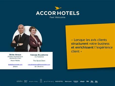 hubday accor hotels lorsque les avis clients structurent votre