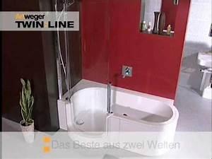 Badewannen Mit Tür : badewanne mit t r twinline von artweger youtube ~ Orissabook.com Haus und Dekorationen