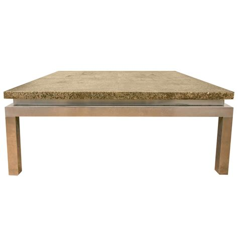 huge square coffee table 1970s large square coffee table for sale at 1stdibs
