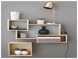 Etagere Pour Chambre : charmant etagere chambre ado avec etagere murale chambre ~ Preciouscoupons.com Idées de Décoration