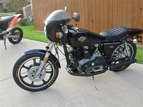 Harley Davidson Cafe Racer For Sale by 1977 Harley Davidson Xlcr Cafe Racer For Sale On 2040 Motos