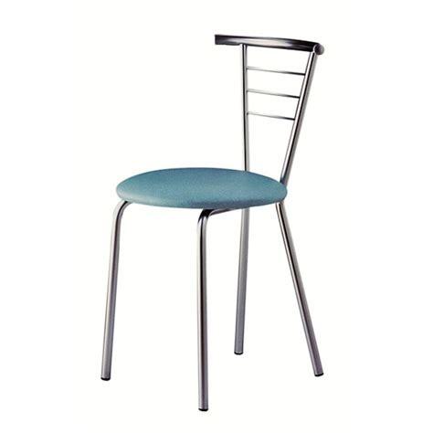 chaise de cuisine but chaise de cuisine en métal flore
