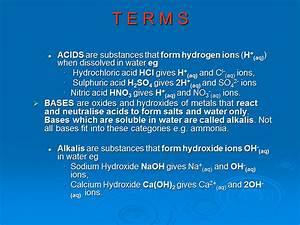 Acid  Bases And Salts - Presentation Chemistry
