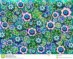 60's Flower Pattern stock illustration. Image of graphic ...