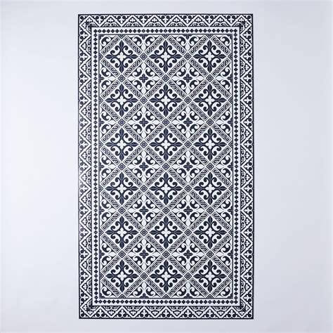vinyl kitchen floor mats mediterranean vinyl kitchen mats on food52 6898