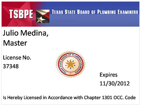 state board of plumbing plumbing certifications and licenses agave plumbing