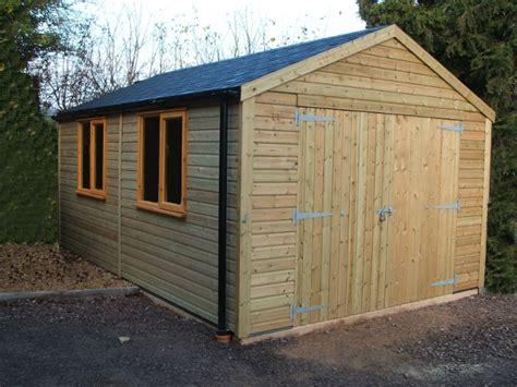 Timber Garages. Workshops. Ideal Range