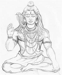 Photos: Shiva Drawing Photos, - DRAWING ART GALLERY
