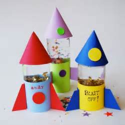 Rocket Toy Story Party Craft Globes