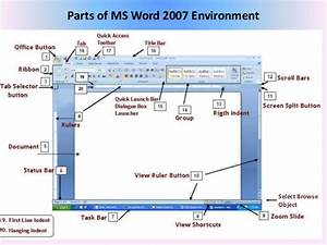 01 Microsoft Office Word 2007  Introduction And Parts