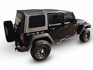 Jeep Wrangler Oem Replacement Soft Top W   Tinted Windows