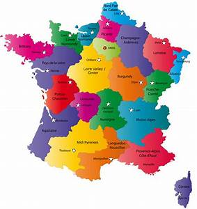 France Map  Explore Places And Attractions On A Detailed