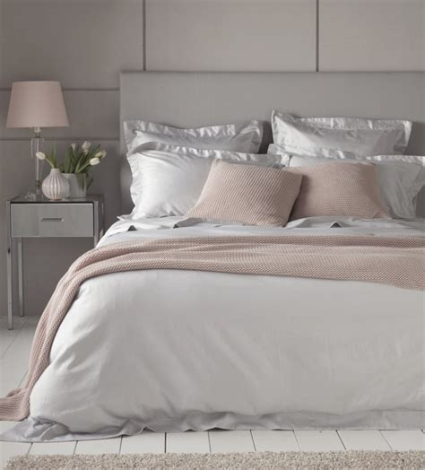 luxury light grey 600 thread count bed linen secret