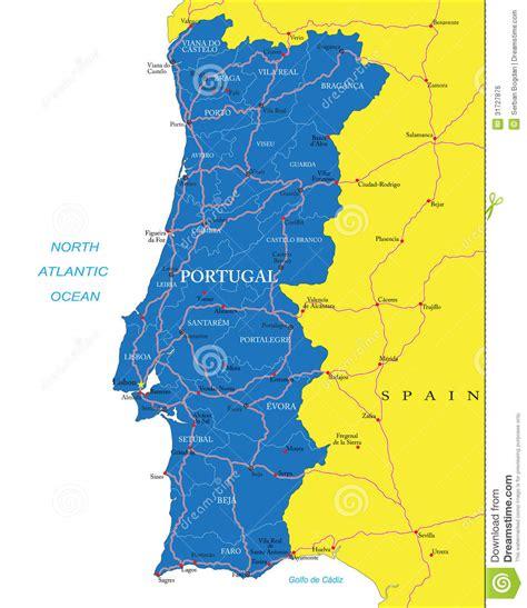 Carte De Image Libre by Carte Du Portugal Image Libre De Droits Image 31727876