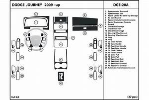2010 Dodge Journey Dash Kits