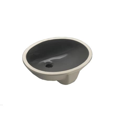 bathroom sink drain home depot kohler caxton vitreous china undermount bathroom sink in