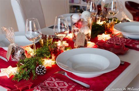 une decoration de table pour noel les recettes de
