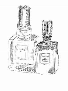Perfume Bottle Drawing At Getdrawings Com