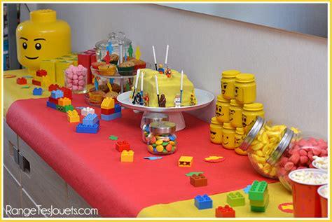 tout est super genial anniversaire lego range tes jouets