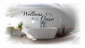 Wandbilder Für Badezimmer : wt 201188 wandtattoo wellnessoase wandsticker badezimmer sauna bad schlafzimmer ebay ~ Sanjose-hotels-ca.com Haus und Dekorationen