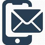 Icon Android Text Email Sms Message Web