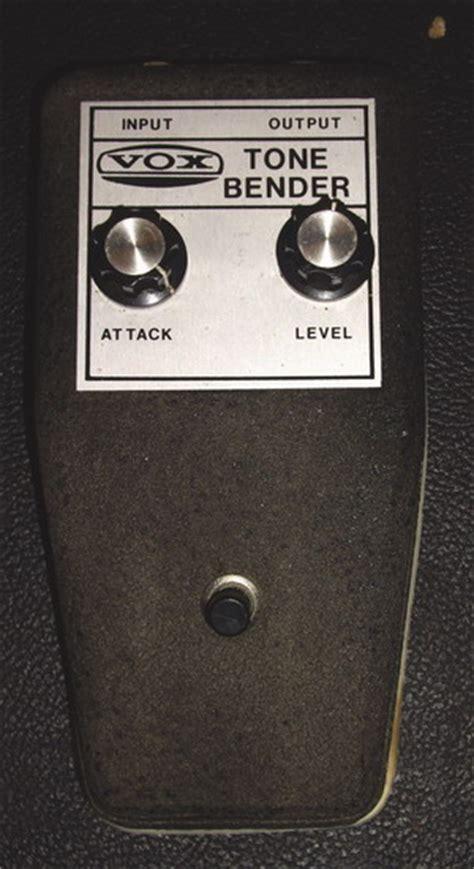Vox Tone Bender Black Metal Box