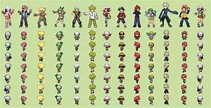 Pokemon trainer overworld sprite maker | Peatix