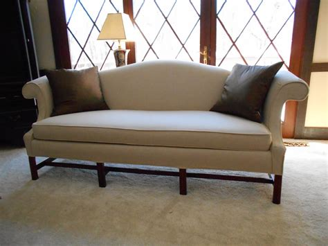 Camel Back Loveseat by Camel Back Sofa