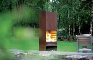 Cheminee Exterieur Bois : chemin e ext rieur design chemin e ext rieure barbecue ~ Premium-room.com Idées de Décoration