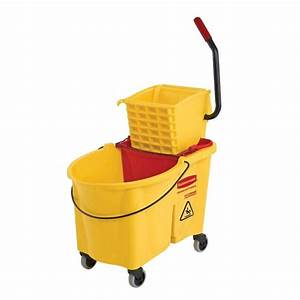 Rubbermaid Commercial Products 44 Qt. Yellow WaveBrake ...
