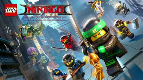 test  lego ninjago  video game