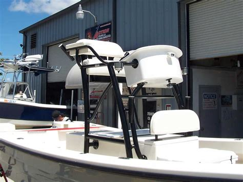 Boat Mini Tower custom flats boat and bay boat towers by welding