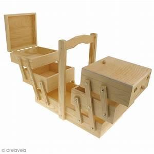 Boite A Bijoux Ikea : boite couture d corer en bois 32 x 16 x 29 cm boite rangement couture creavea ~ Teatrodelosmanantiales.com Idées de Décoration