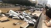 鄭州京廣路隧道水淹全紀錄 1小時水深及膝...4小時後車輛漂在水面 - 兩岸 - 旺報