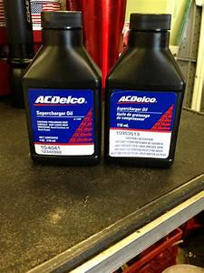 Gm  Ac Delco  Supercharger Oil - Jaguar Forums
