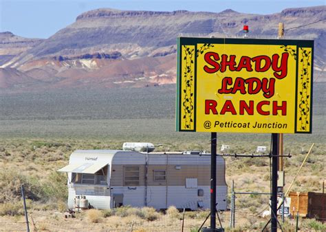Ufos, Savage Bears And Cat Houses… On The Road In Nevada