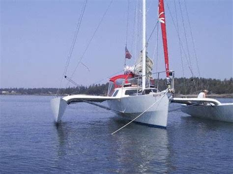 Trimaran For Sale by 2000 Hammerhead 34 Trimaran Sail Boat For Sale Www