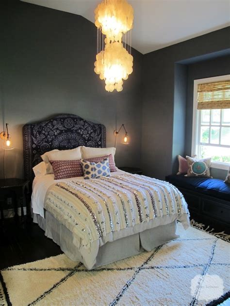 moroccan bed moroccan headboard mediterranean bedroom amber interiors