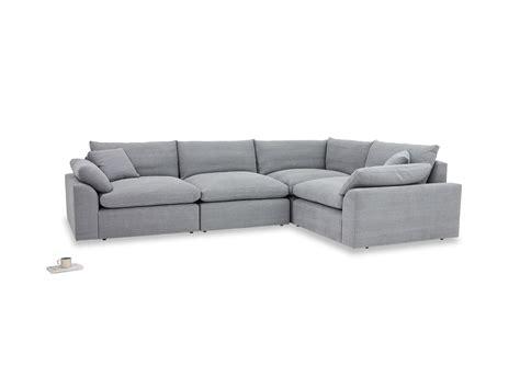 l sofa cuddlemuffin corner sofa l shaped modular sofa loaf
