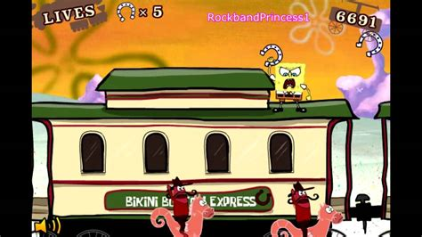 Spongebob's No Train No Gain Game