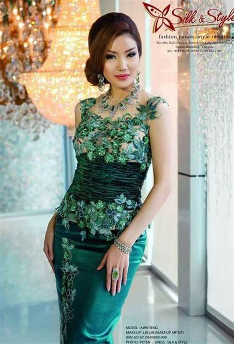 myanmar dress myanmar dress   traditional