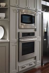 Oven And Microwave Cabinet