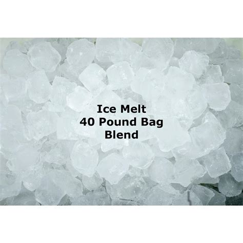 40 lb. Granular Ice Melt Blend 40B RR   The Home Depot