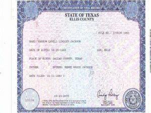 dallas texas birth certificates amulette