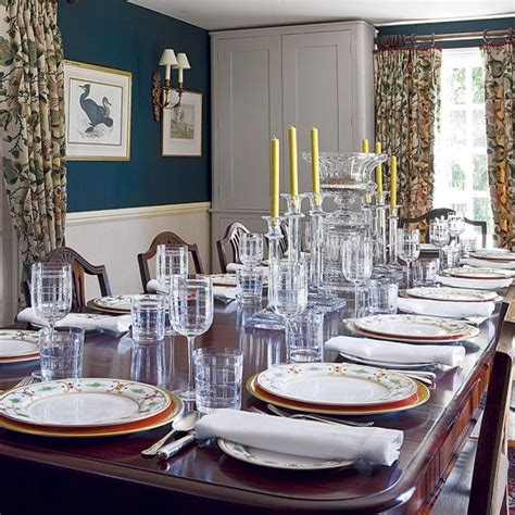 georgian inspired dining room edwardian country house