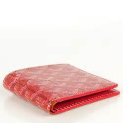 stylish earrings goyard chevron bifold wallet 120747