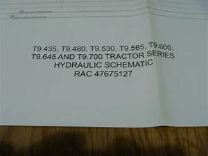 New Holland T9 435 T9 480 4wd Tractor Hydraulic Electrical